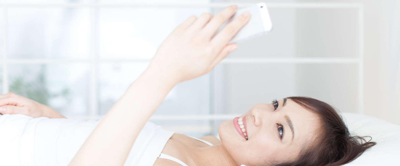 Neem die smartphone niet mee naar bed
