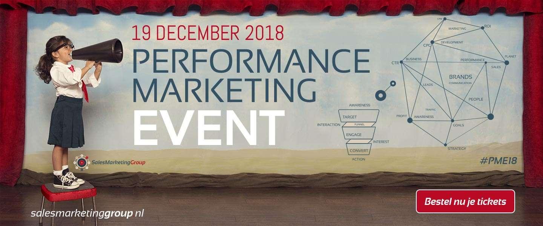 Sluit het jaar goed af met een bezoek aan het Performance Marketing Event #PME18