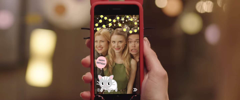 Snapchat krijgt on demand geofilters
