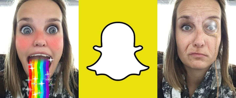 Deze dingen kun je doen met de nieuwe update van Snapchat