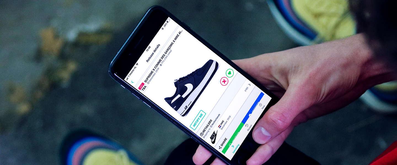 Sneakerjagers introduceert een releasekalender app voor sneakers