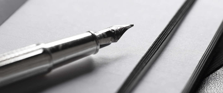 Sneller schrijven? Laat de letter 'e' vallen!