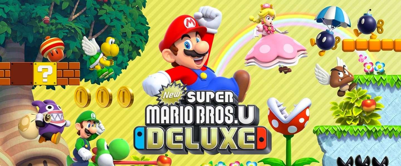 New Super Mario Bros. U Deluxe: ook in herhaling een topgame