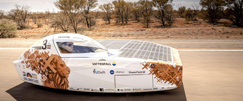 Team uit Delft wint dit keer niet de World Solar Challenge