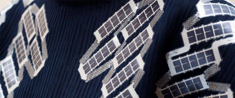 Solar Shirt: een wearable telefoonoplader