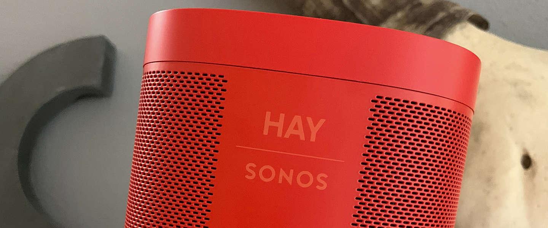 HAY for Sonos-collectie combineert design met luisterervaring