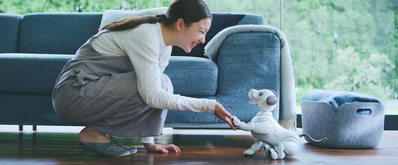 Dit is Sony's nieuwe robothond: de Aibo