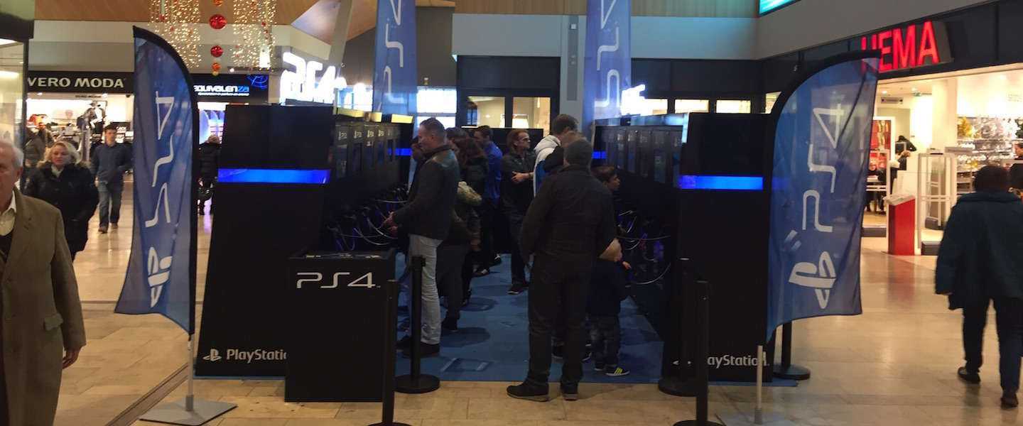 Playstation opent PS4 pop-up store in Rotterdam