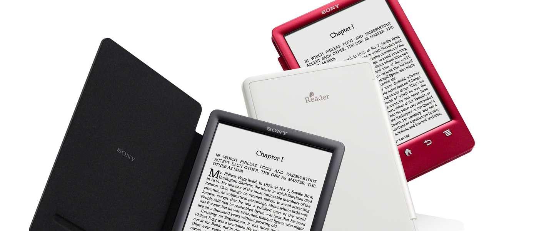 Sony stopt met ontwikkeling e-Readers