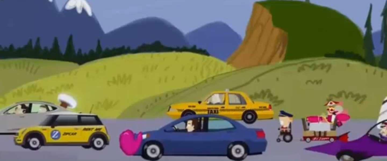 South Park doet parodie op Uber/taxibedrijven strijd