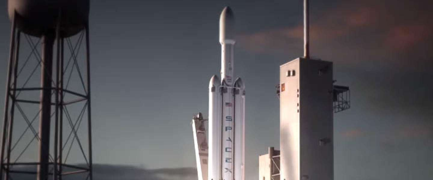 SpaceX lanceert de eerste Falcon Heavy-raket in november
