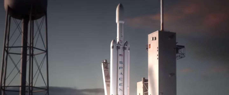 SpaceX lanceert de eerste Falcon Heavy-raket in november