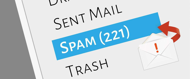 Marktaandeel spam voor het eerst sinds 2003 onder de 50%