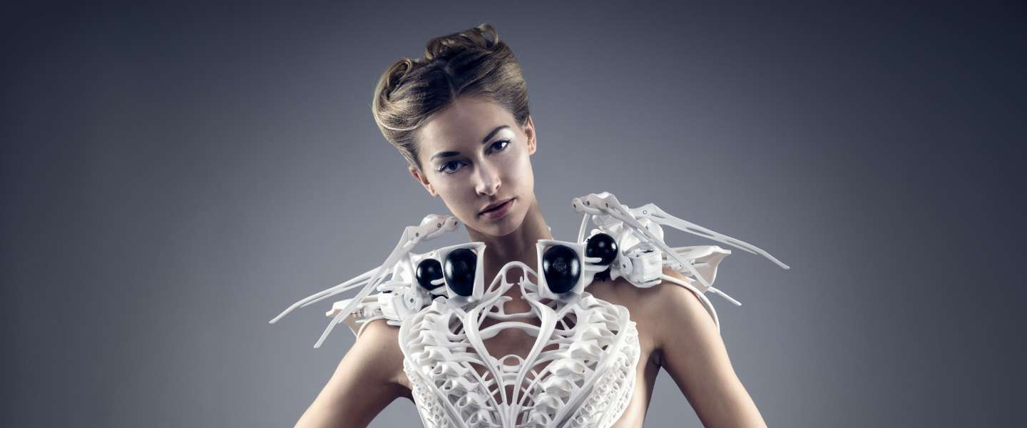 De High Tech Couture van Anouk Wipprecht