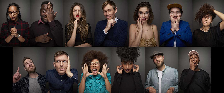 Een succesvol eerste jaar voor het allereerste spoken word-agency van Nederland