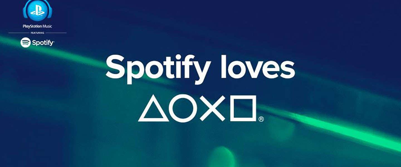 Spotify vanaf vandaag beschikbaar via PlayStation Music