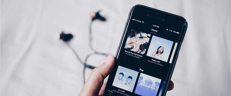 Spotify: We zijn audio op een andere manier gaan consumeren