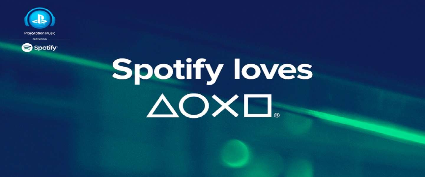 Sony en Spotify bundelen krachten: Playstation Music