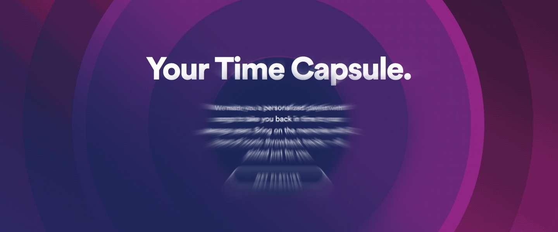 Spotify maakt 'Time Capsule'-playlist op basis van je leeftijd