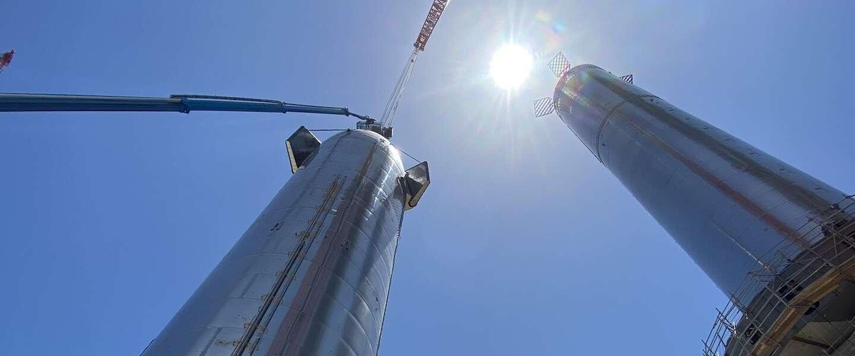 SpaceX zet haar Starship in elkaar