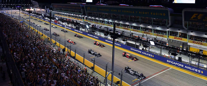 Smullen: inhaalacties tijdens de Grand Prix van Singapore
