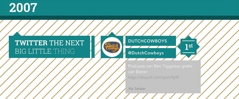 150.000 Twitter-volgers voor @dutchcowboys