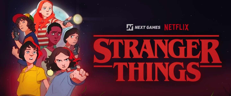 Netflix kondigt Stranger Things spel voor iOS en Android aan