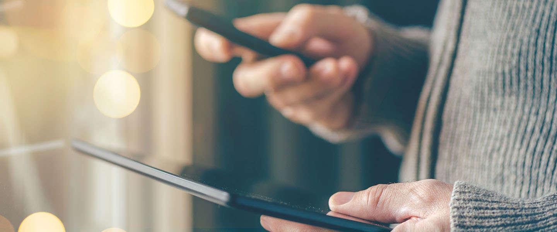 Online shoppen: Smartphone voor het eerst populairder dan tablet