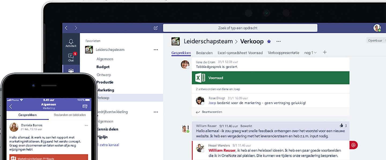Microsoft Teams nu gebruikt door half miljoen bedrijven en komst van nieuwe features