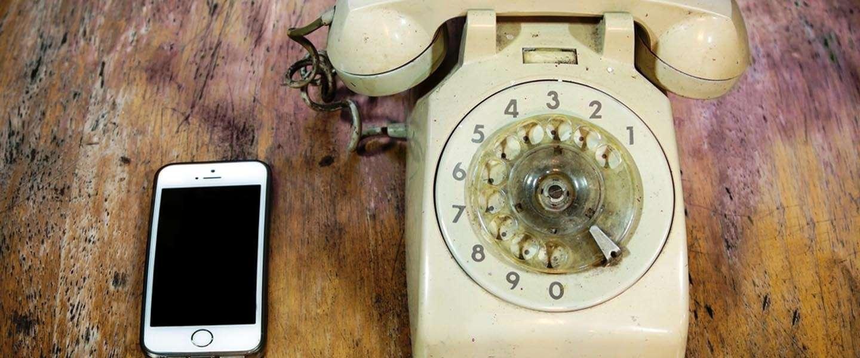 """""""Sms me, mail me of stuur me een appje, maar bel me alsjeblieft niet op"""""""