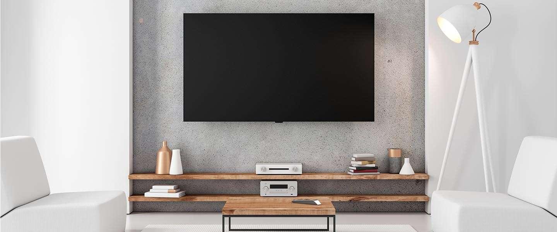 Is een televisiemeubel nog wel nodig?