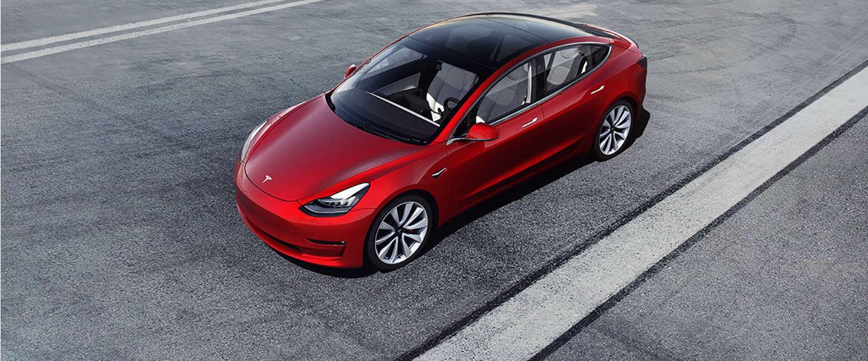 Tesla Model 3 populairste elektrische auto ter wereld