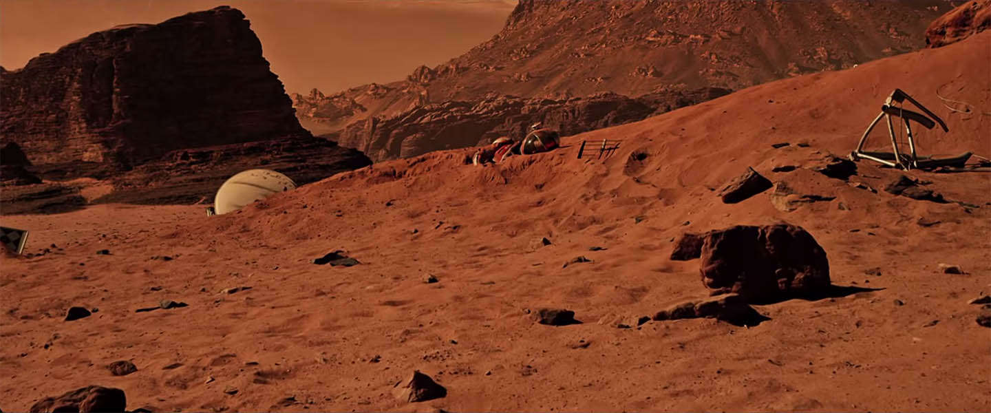 "Nieuwe trailer The Martian - ""Bring him home"""