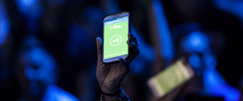 Geslaagde wereldpremière The Smartphone Orchestra op Lowlands