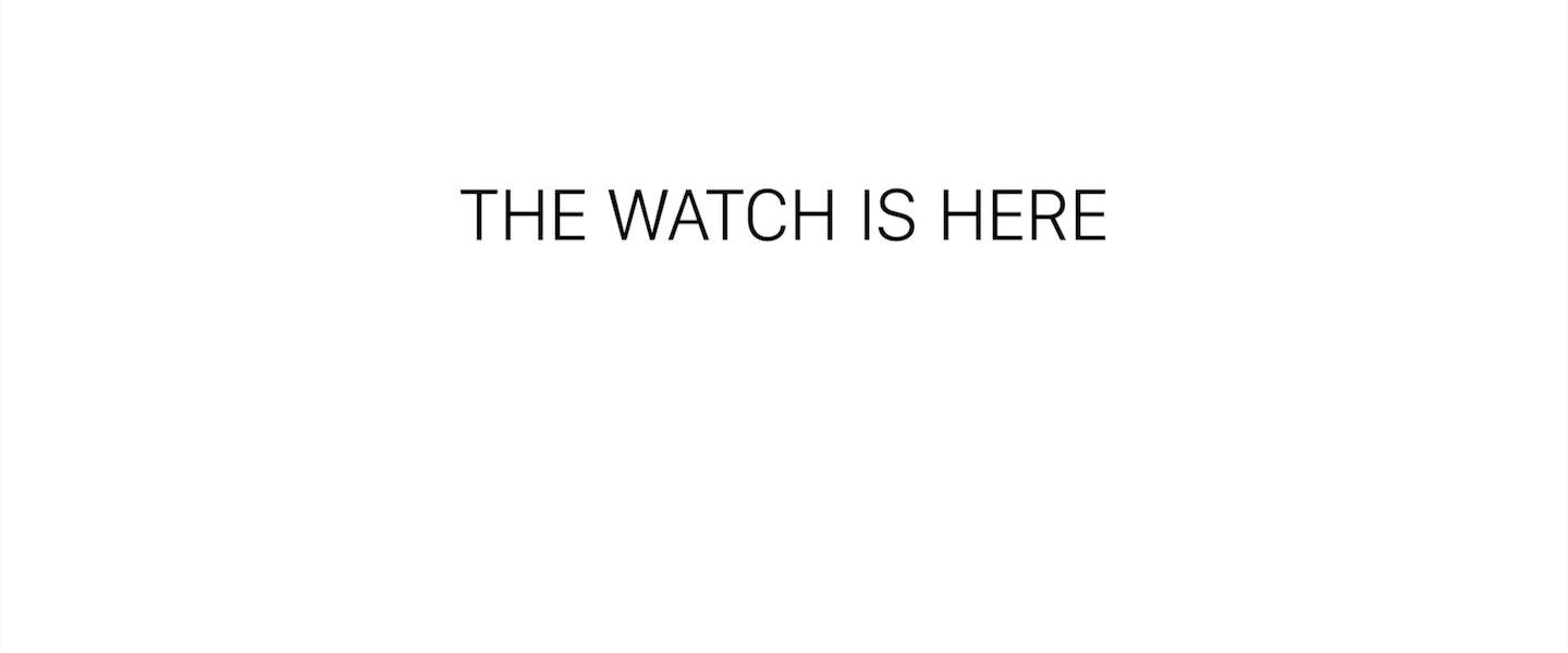 """""""The Watch Is Here..."""""""