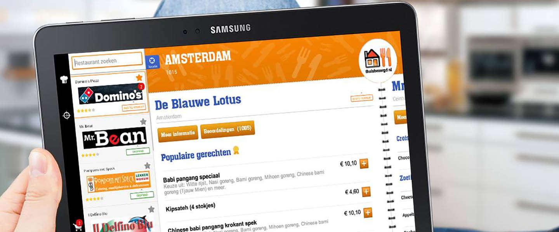 Thuisbezorgd.nl wil naar de beurs
