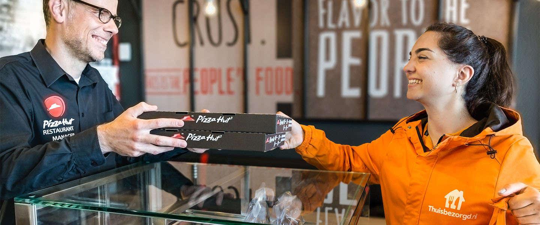 Horeca-ondernemers zijn niet bepaald meer blij met Thuisbezorgd