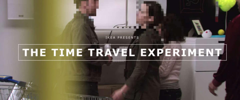 IKEA overweldigt klanten met Time Travel experiment