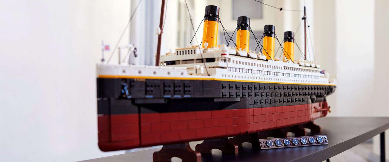 Goed nieuws: De Nieuwe Wildernis in Rotterdam, een giga-Titanic van LEGO en bijzondere upcycle