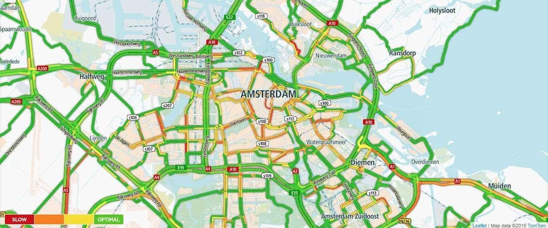 TomTom lanceert verkeersinformatieplatform TomTom City