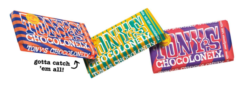 Smelt helemaal weg met de limited editions van Tony's Chocolonely