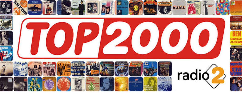 Cartoonist tekent nummers van de Top 2000