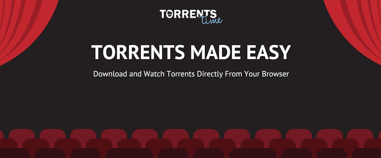 Misschien toch maar niet in je browser streamen met Torrents Time?