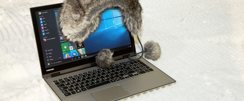 Vier tips om je laptop gezond de winter door te helpen