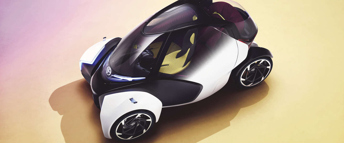 Apart: Toyota showt i-TRIL concept met controller-besturing