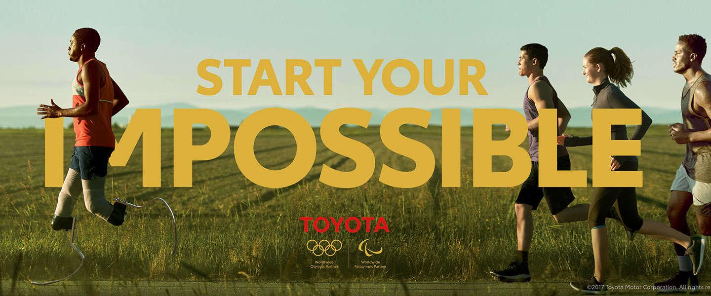 Toyota en het sponsorship van Olympische en Paralympische atleten