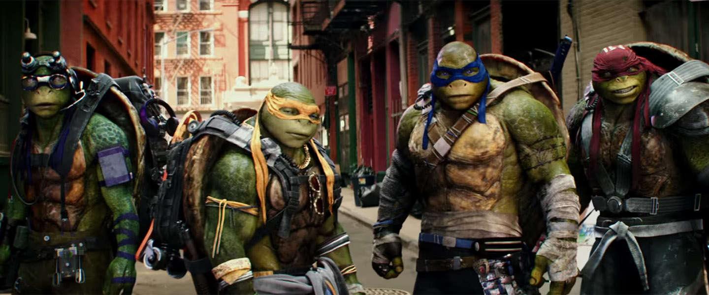 Eerste trailer Ninja Turtles: Out of the Shadows