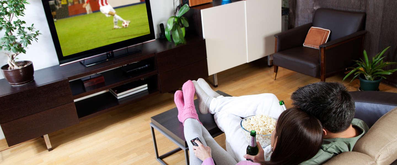 Nederlanders kijken nog steeds 3 uur tv per dag