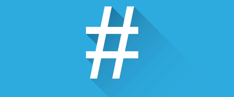 De #hashtag bestaat vandaag 12 jaar