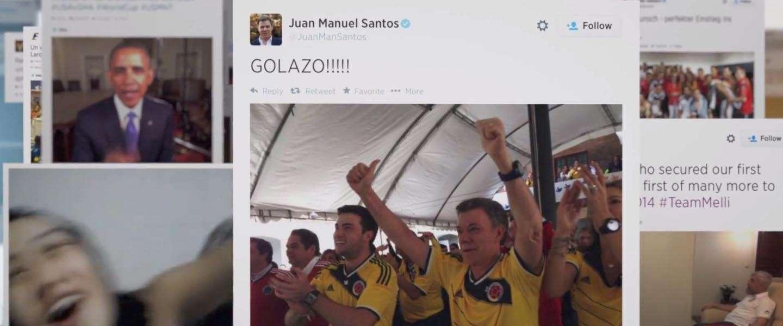 Dit was het #WK2014 op Twitter